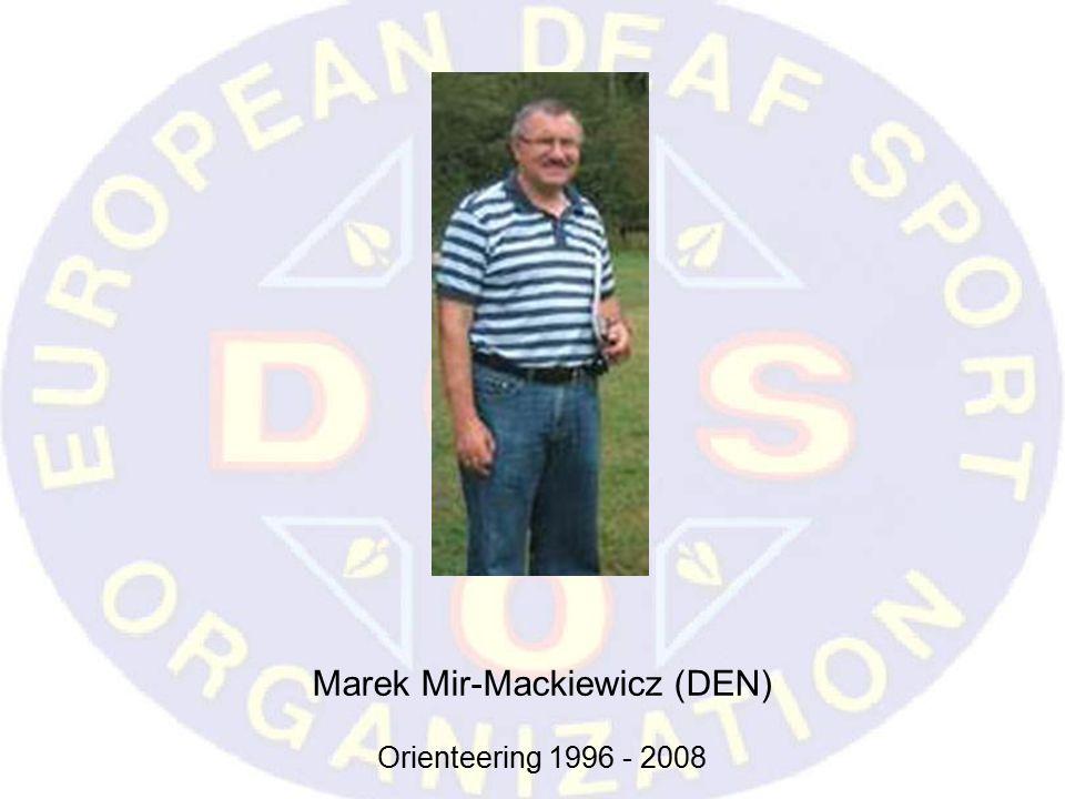 Marek Mir-Mackiewicz (DEN) Orienteering 1996 - 2008