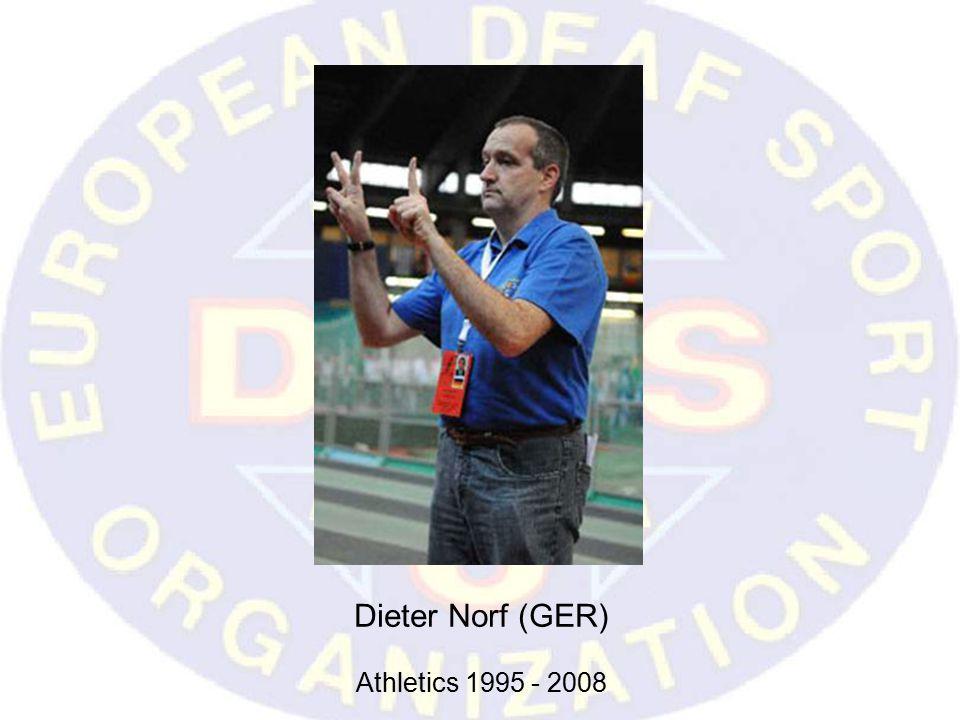 Dieter Norf (GER) Athletics 1995 - 2008