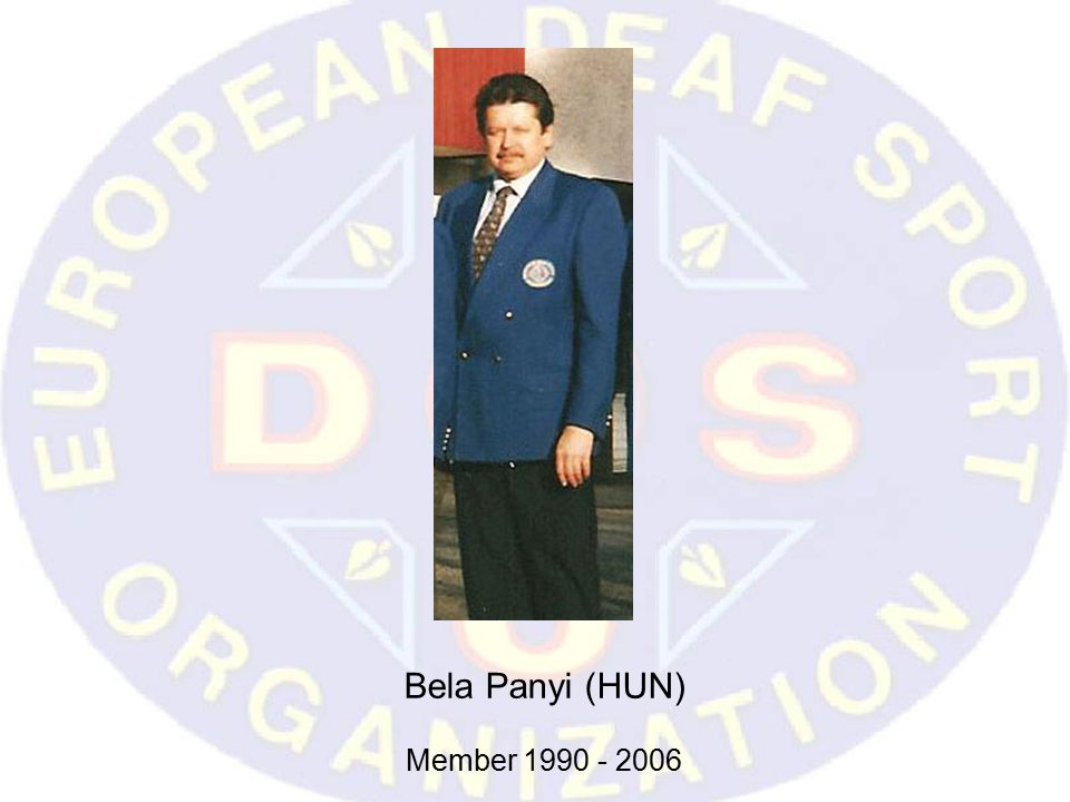 Bela Panyi (HUN) Member 1990 - 2006