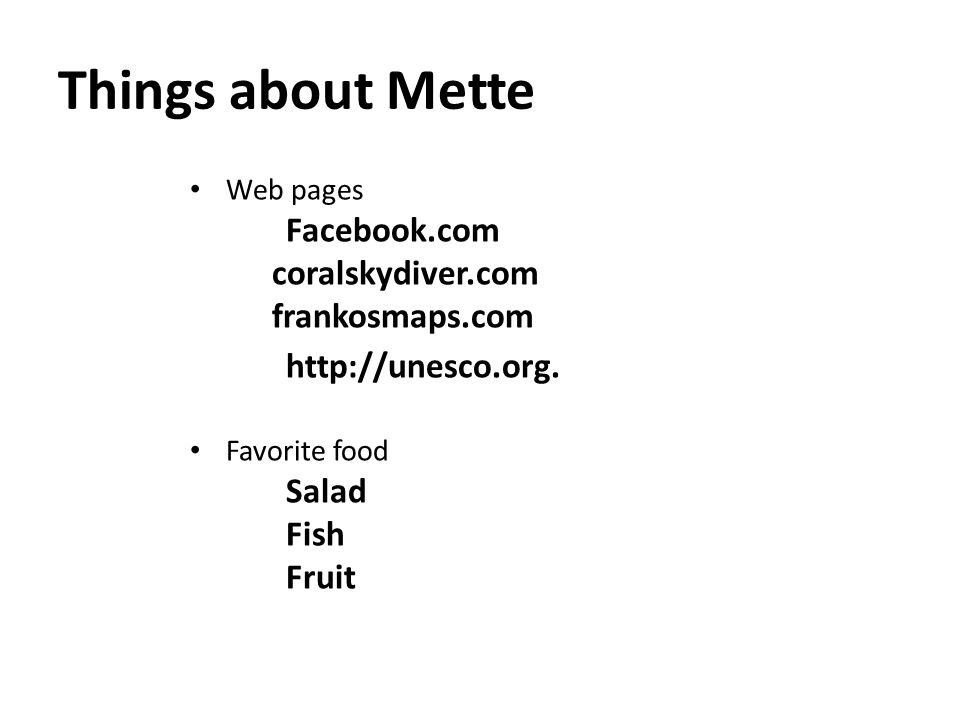 Things about Mette Clothing Jeans Blouses Comfortable shoes Interior IKEA furniture Posters/Pictures Library book shelf