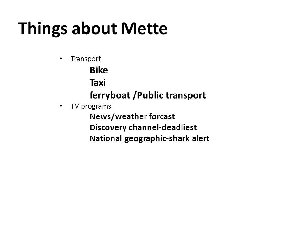 Things about Mette Favorite things Swimming Sauna