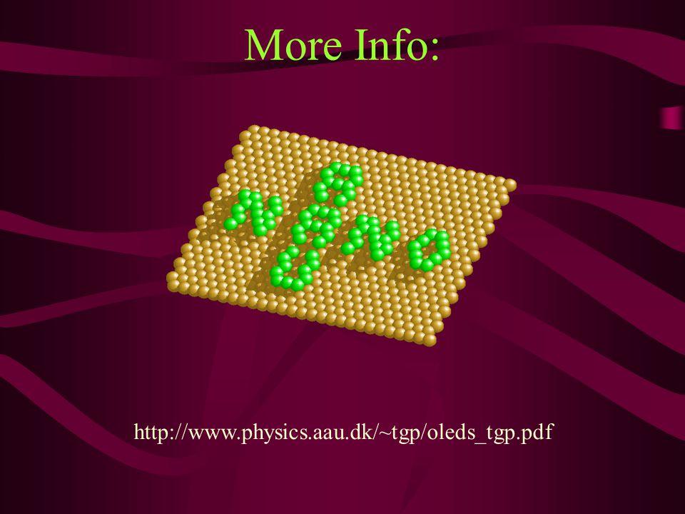 More Info: http://www.physics.aau.dk/~tgp/oleds_tgp.pdf