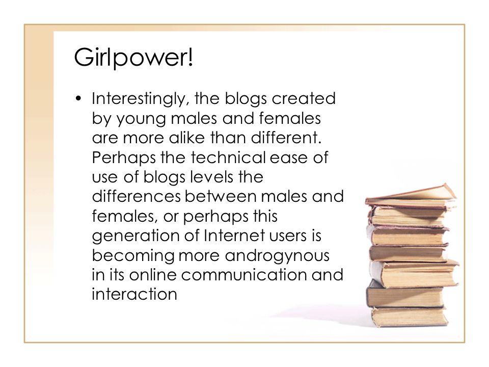 Girlpower.
