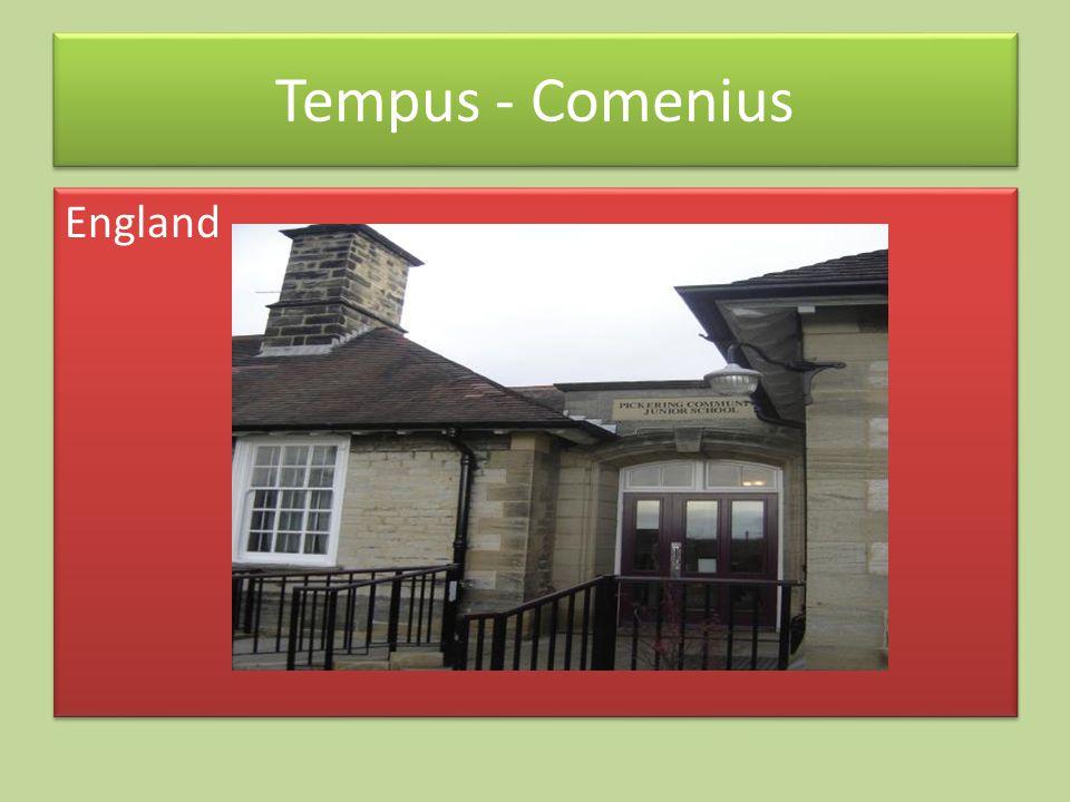 England Tempus - Comenius