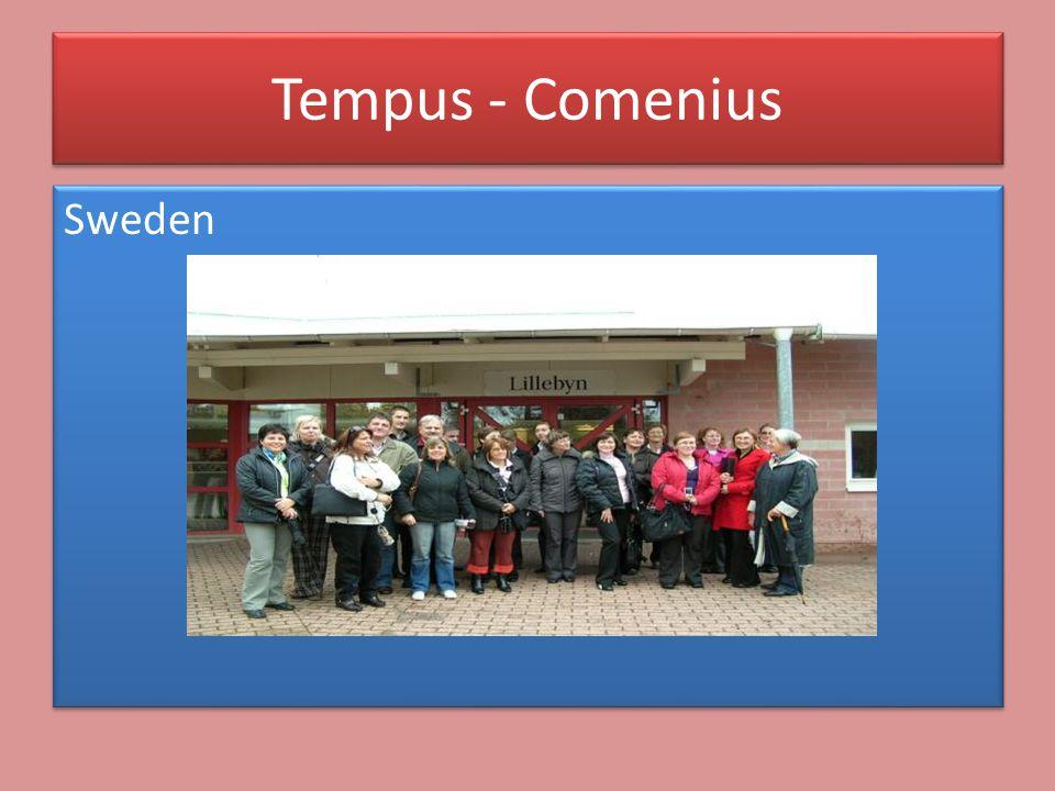 Sweden Tempus - Comenius