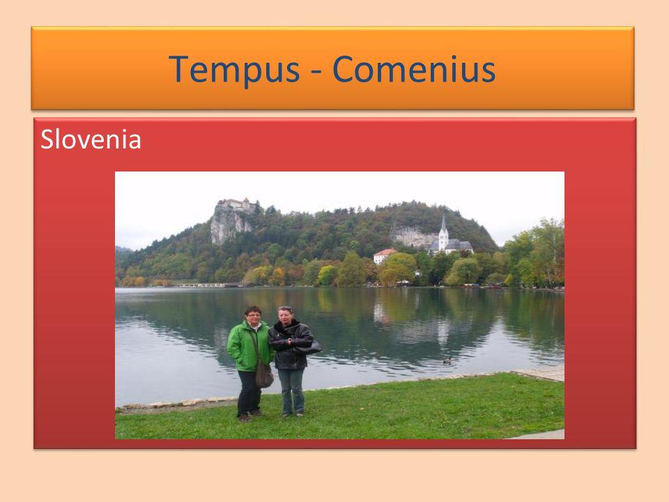 Slovenia Tempus - Comenius