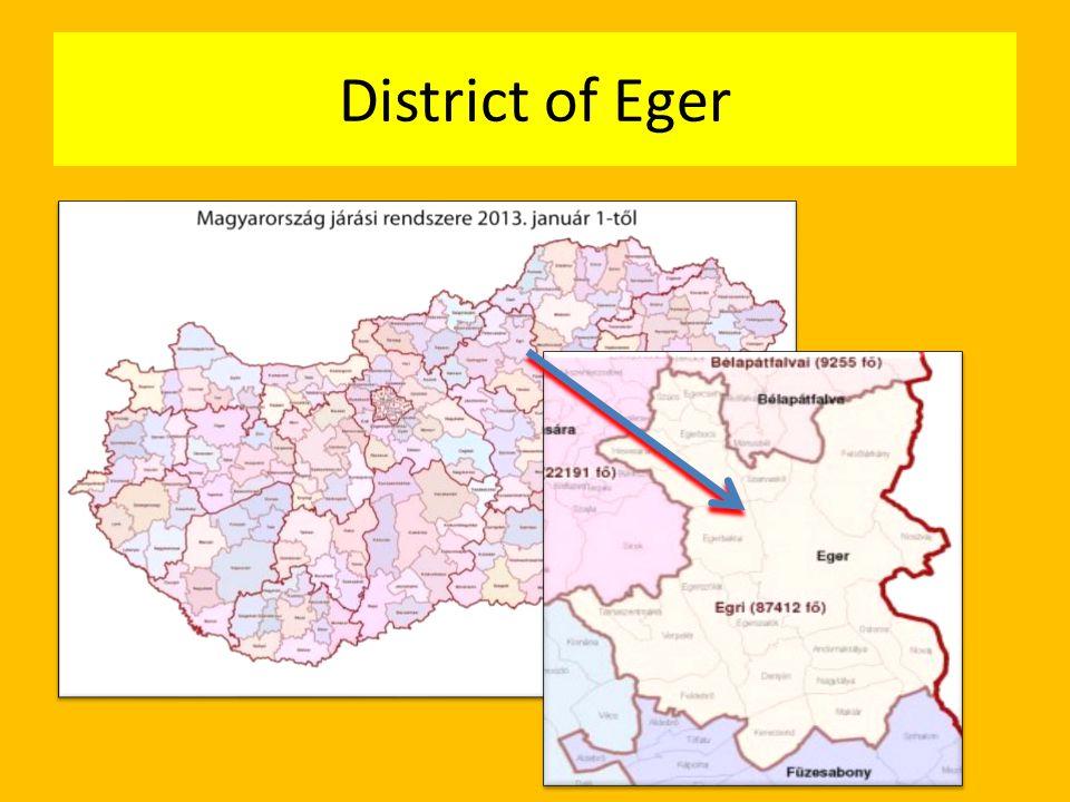 District of Eger