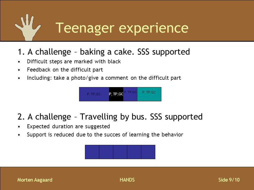 Morten AagaardHANDS Side 9/10 Teenager experience 1.