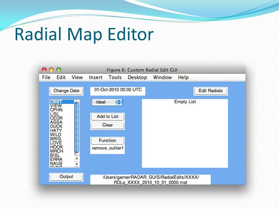 Radial Map Editor