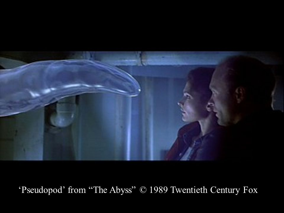 "'Pseudopod' from ""The Abyss"" © 1989 Twentieth Century Fox"