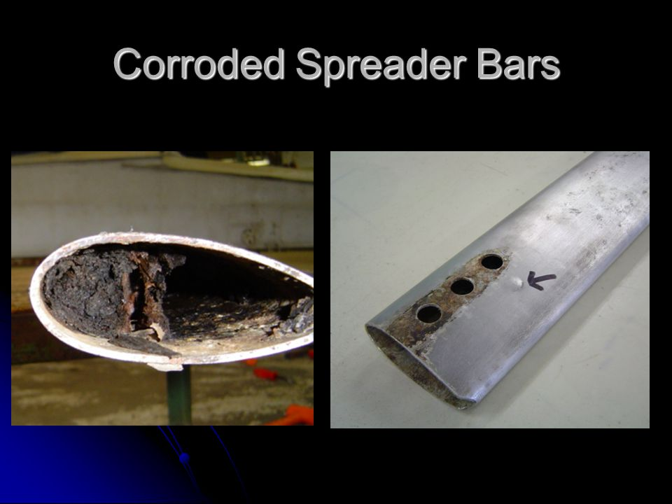 Corroded Spreader Bars