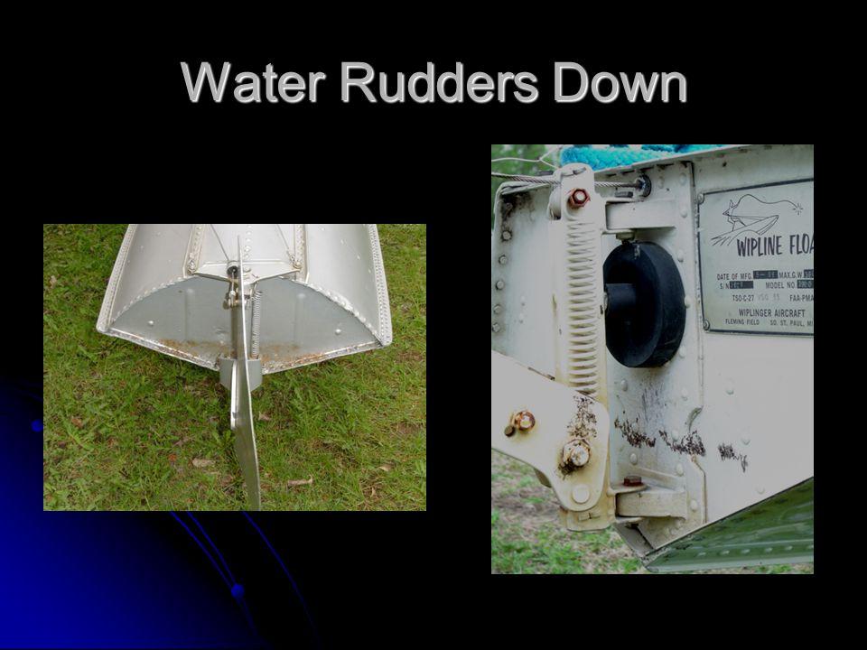 Water Rudders Down
