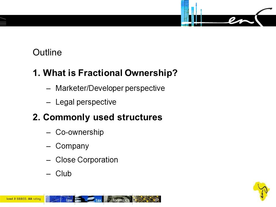 1.What is Fractional Ownership. * 1. What is Fractional Ownership.