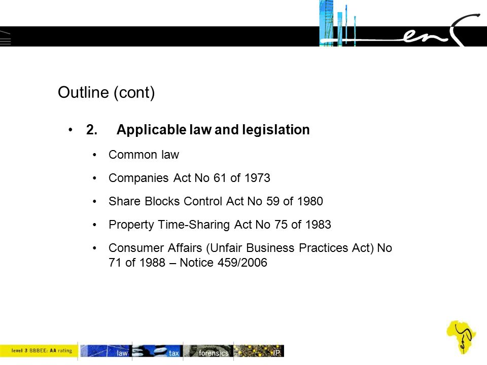 key prohibition in the Act –the key element of the Act is contained in section 7(1), which provides as follows: with effect from a date determined by the Minister by notice in the Gazette, a person may not act or offer to act as a financial services provider unless such person has been issued with a licence under section 8. –a financial services provider is therefore any person who, as a regular feature of its business, furnishes advice or renders an intermediary service , or both.