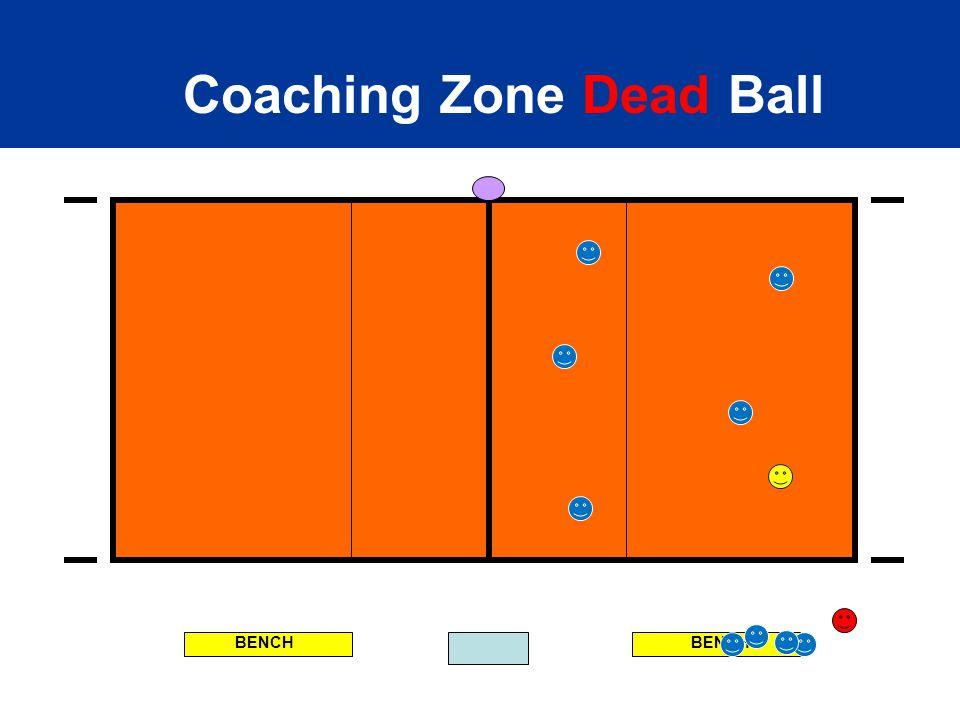 BENCH Coaching Zone Dead Ball