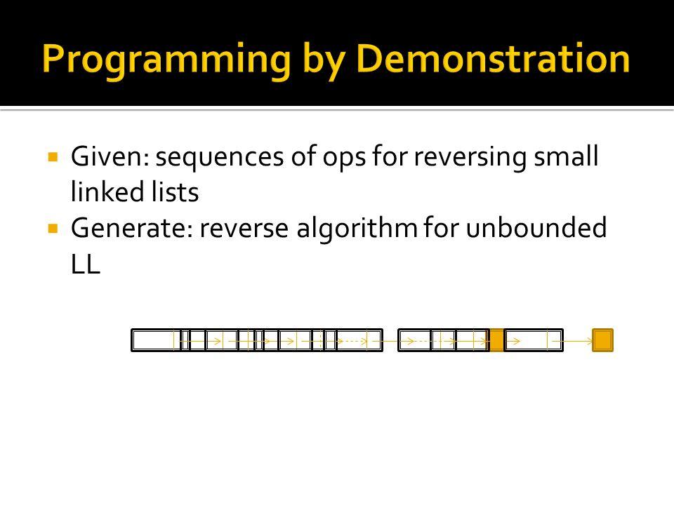  Plans with loops: broad applicability [Winner et al. '03, Bonet et al. '09, Hu et al. '10]