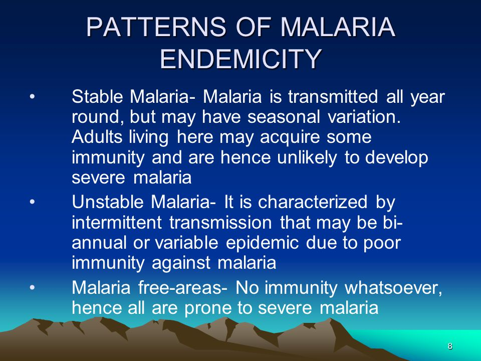59 Recommended Treatment Of Malaria A.