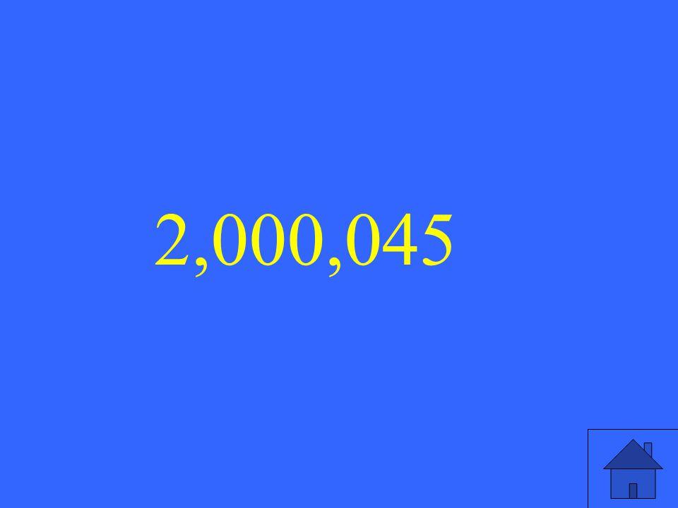 2,000,045