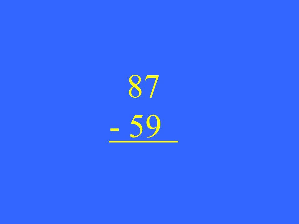 87 - 59
