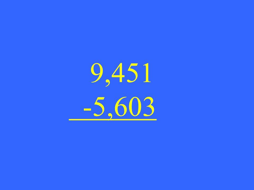 9,451 -5,603