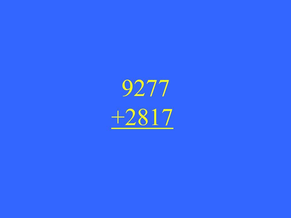9277 +2817