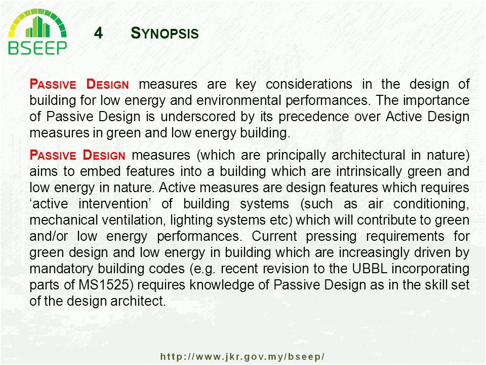 45T HE C ONCEPT OF OTTV Assumptions The concept of OTTV is based on the assumption that the envelope of the building is completely enclosed.