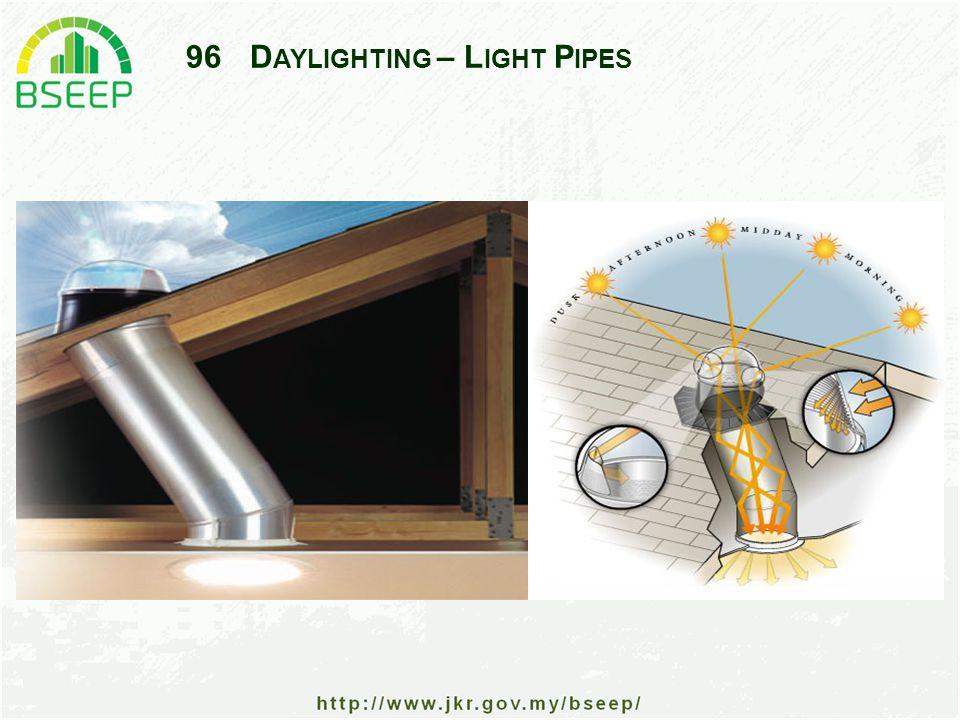 96D AYLIGHTING – L IGHT P IPES