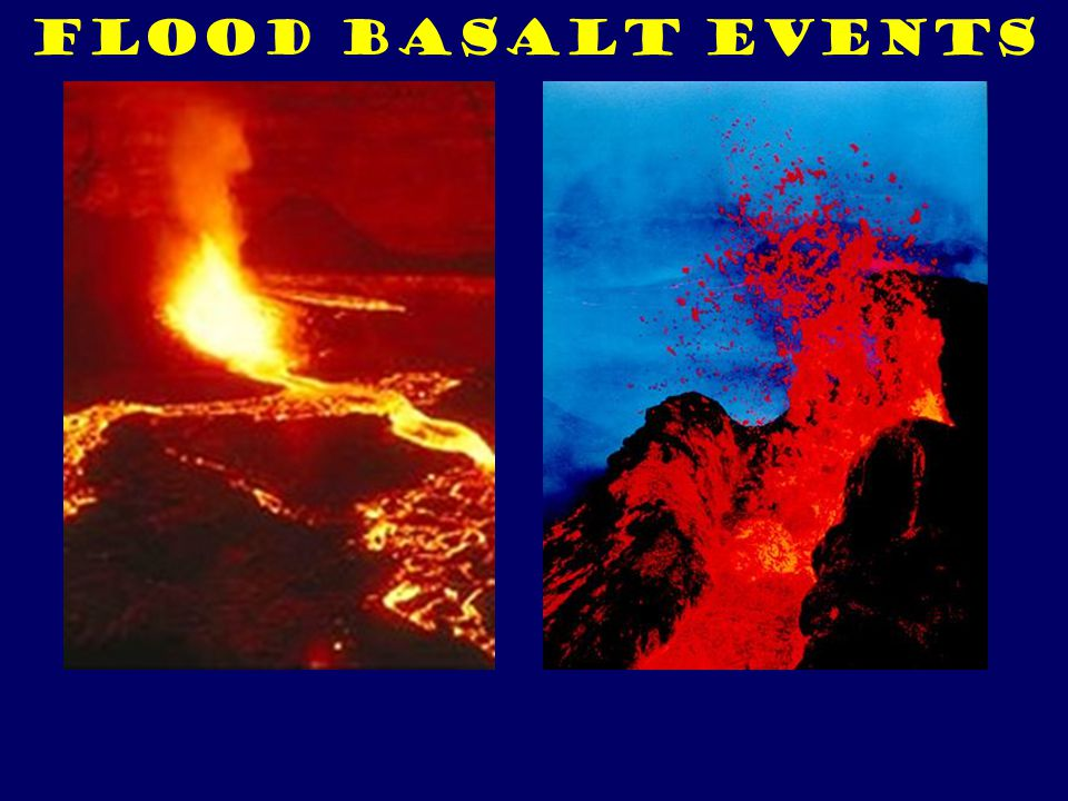 Flood Basalt Events