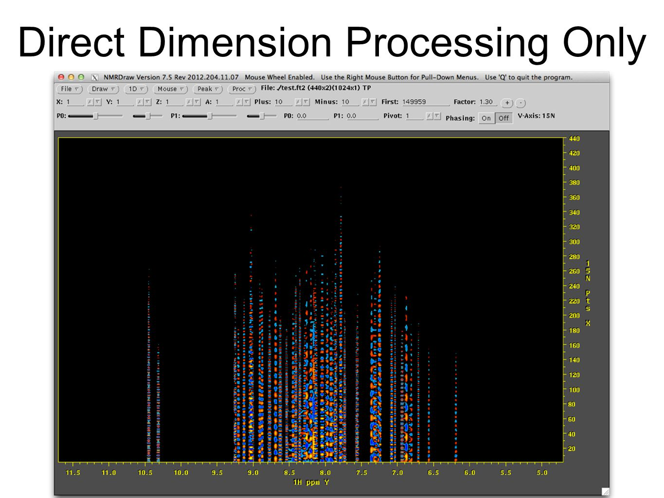 Direct Dimension Processing Only
