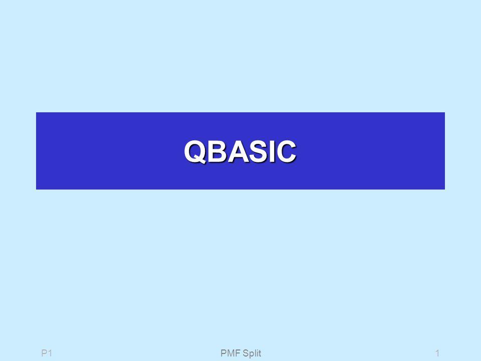 P1PMF Split1 QBASIC