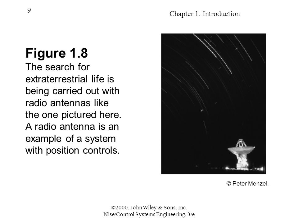 Chapter 1: Introduction 9 ©2000, John Wiley & Sons, Inc.