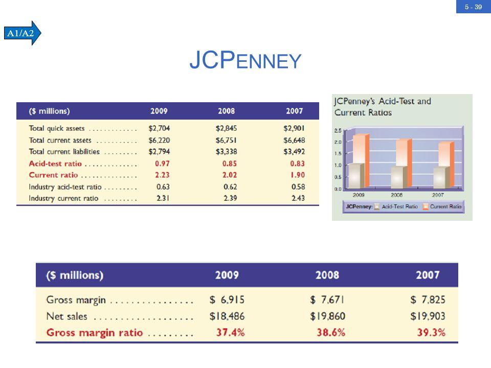 5 - 39 JCP ENNEY A1/A2