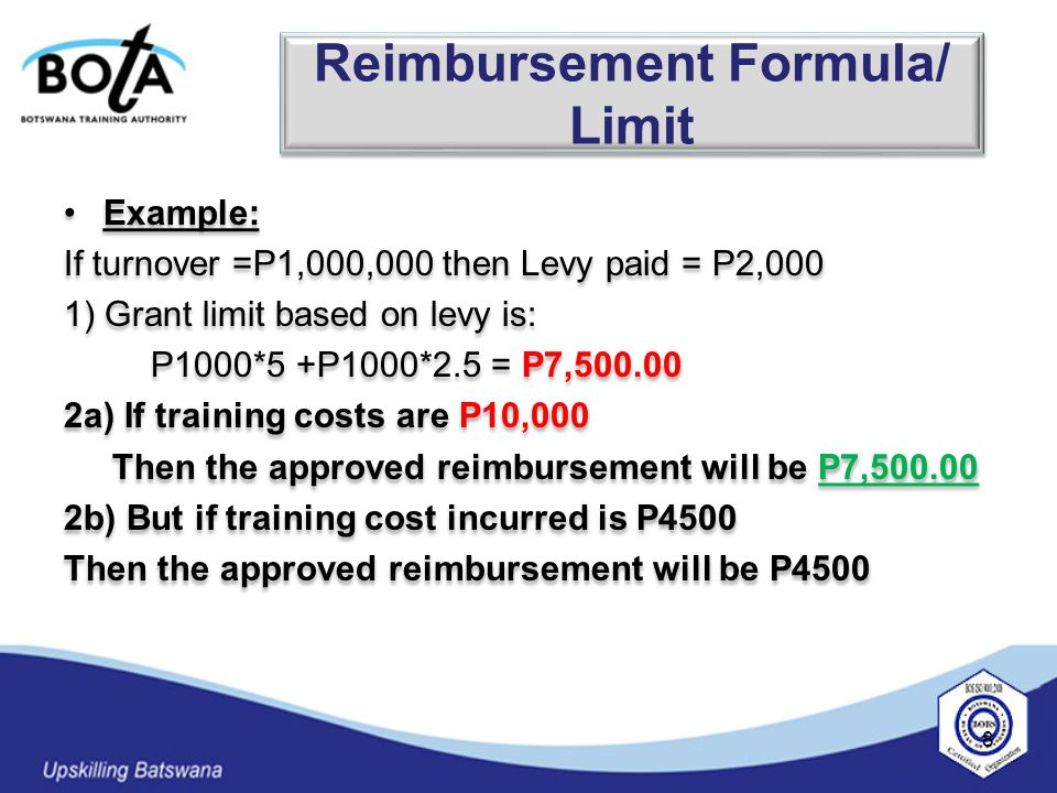  The Fund should be used to support other training related activities such as: Internships, attachments and on the job- training Conducting training needs analysis for companies which pay the levy Paying for training materials To cover for product related training, such as those commonly carried out by manufacturers and distributors.