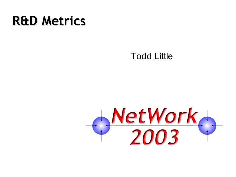 R&D Metrics Todd Little