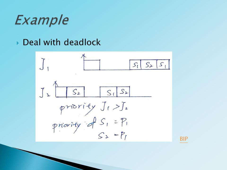  Deal with deadlock BIP