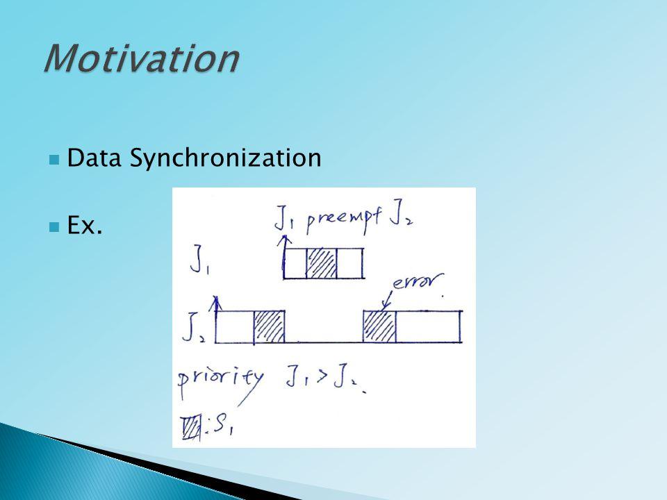 Data Synchronization Ex.