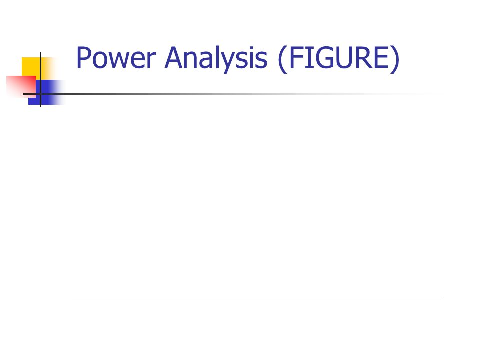 Power Analysis (FIGURE)