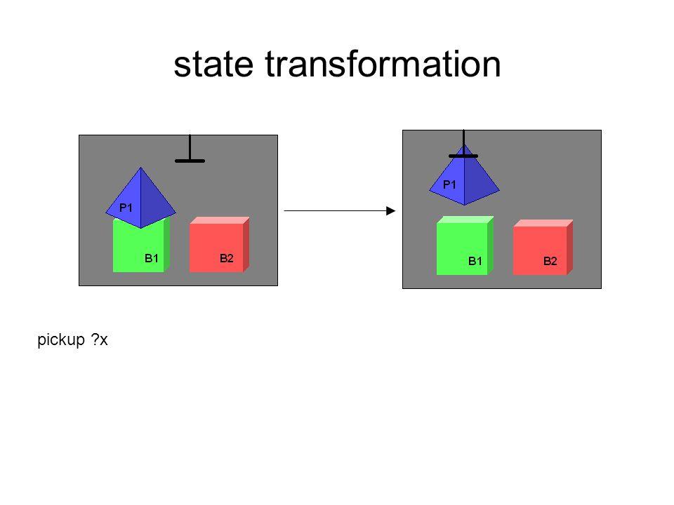 state transformation pickup x