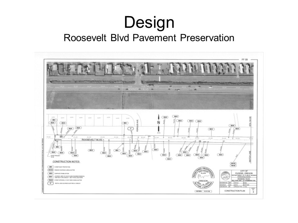 Design Roosevelt Blvd Pavement Preservation