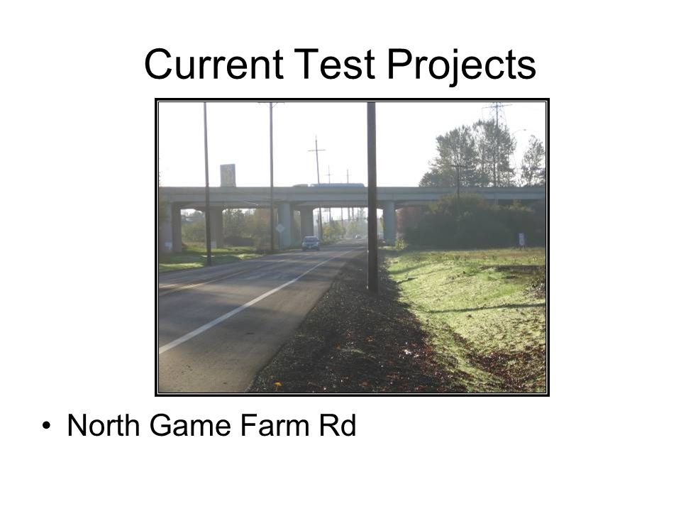 Construction N Game Farm Road Jurisdictions of multiple agencies overlapping.