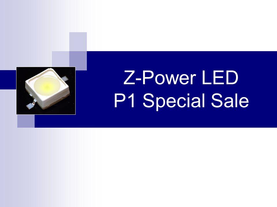 Z-Power LED P1 Special Sale