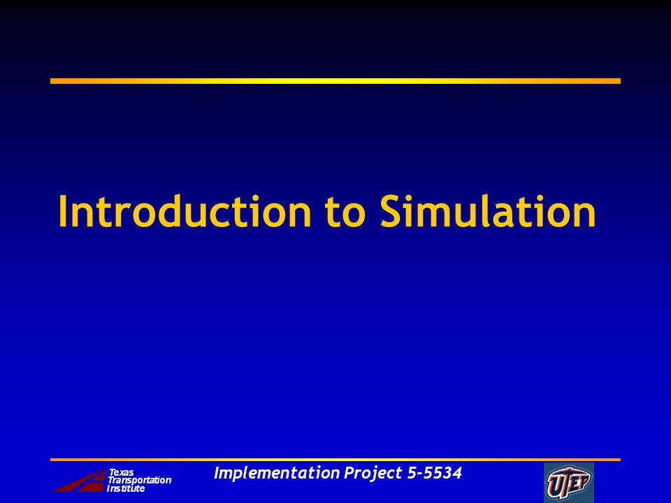 Implementation Project 5-5534 Simulation Simulation is a statistical experiment where a computer model is designed to reproduce probabilistic events that are inherent in the system under consideration.