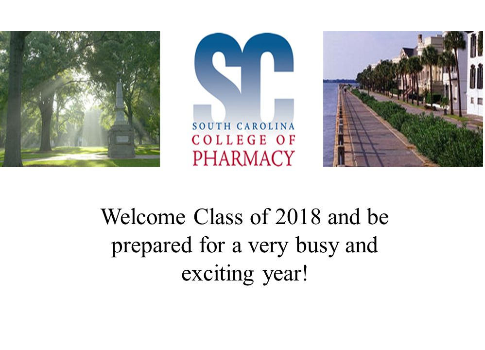Welcome Class of 2018 and be prepared for a very busy and exciting year!