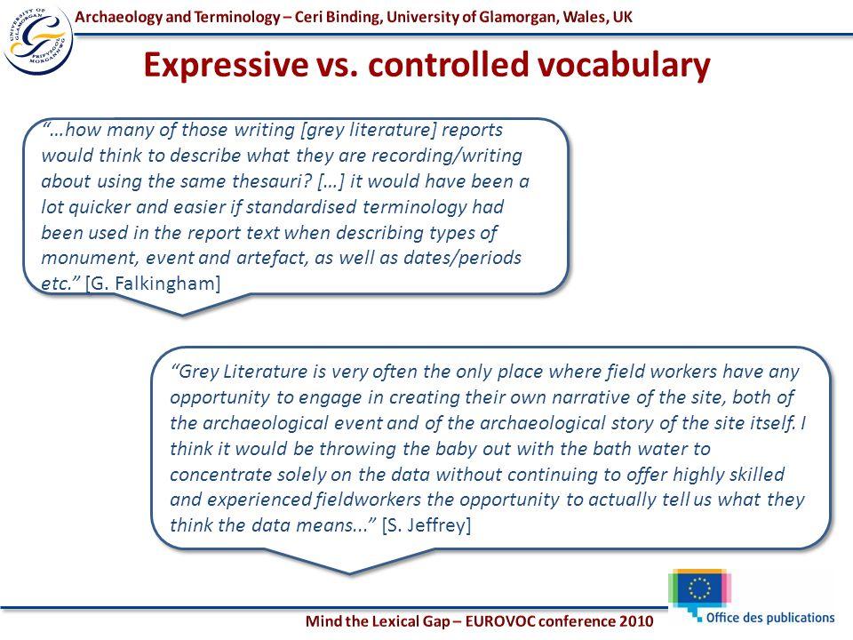 Expressive vs.