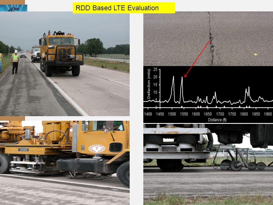 RDD Based LTE Evaluation