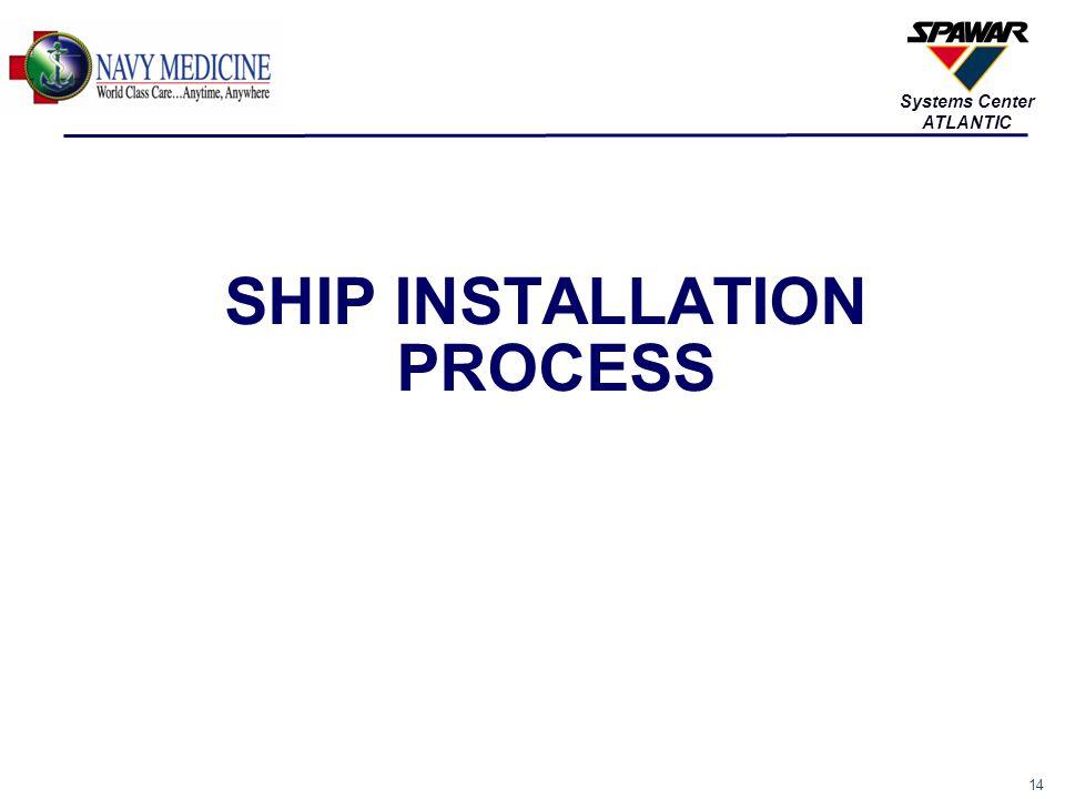14 Systems Center ATLANTIC SHIP INSTALLATION PROCESS