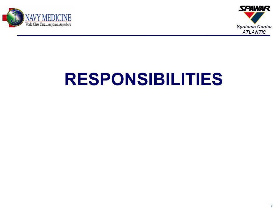 7 Systems Center ATLANTIC RESPONSIBILITIES