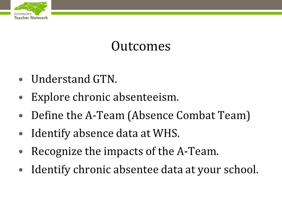 Does Chronic Absenteeism impact your classroom.Let's find out what you think.