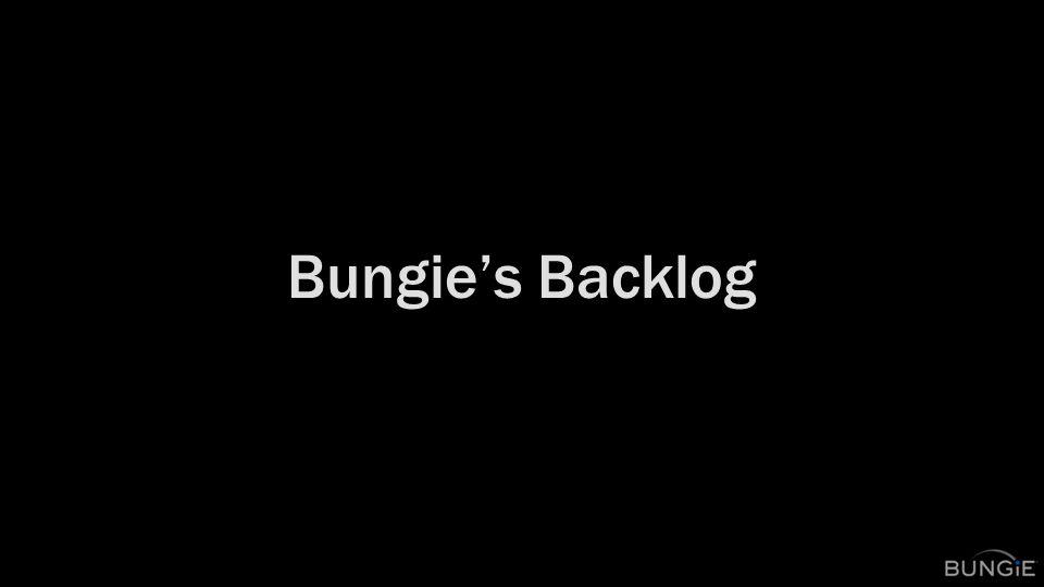 Bungie's Backlog