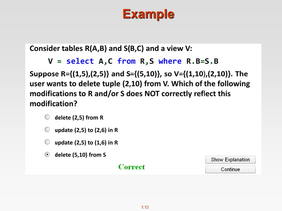 1.13 Example